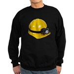 Hard Hat with Lamp Sweatshirt (dark)