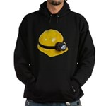 Hard Hat with Lamp Hoodie (dark)