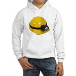 Hard Hat with Lamp Hooded Sweatshirt