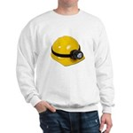 Hard Hat with Lamp Sweatshirt