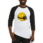 Hard Hat with Lamp Baseball Jersey
