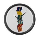 Jacobs Ladder Large Wall Clock