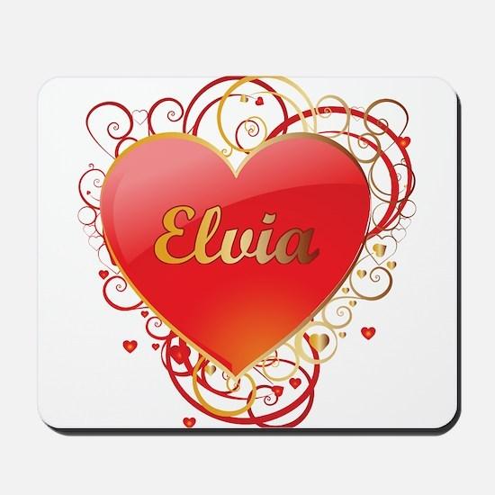 Elvia Valentines Mousepad