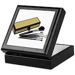 Makeup Brushes Wicker Box Keepsake Box