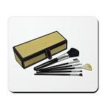 Makeup Brushes Wicker Box Mousepad