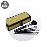 Makeup Brushes Wicker Box 3.5