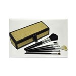 Makeup Brushes Wicker Box Rectangle Magnet (100 pa