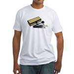 Makeup Brushes Wicker Box Fitted T-Shirt