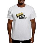 Makeup Brushes Wicker Box Light T-Shirt
