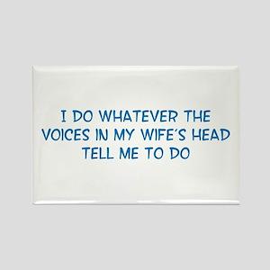 Funny Husband Valentine Rectangle Magnet