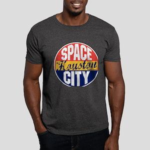 Houston Vintage Label Dark T-Shirt