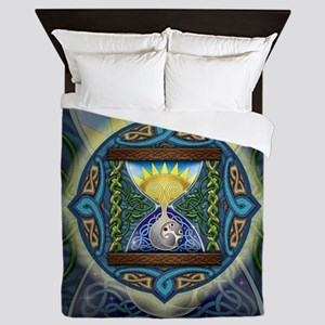 Celtic Hourglass Queen Duvet Cover