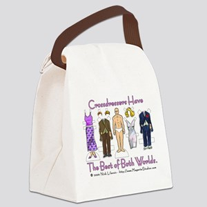 Crossdressers Canvas Lunch Bag