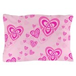 Celtic Hearts Pillow Case