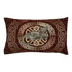 Celtic Cat Pillow Case