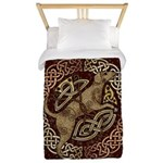 Celtic Dog Twin Duvet Cover
