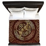 Celtic Dog King Duvet Cover