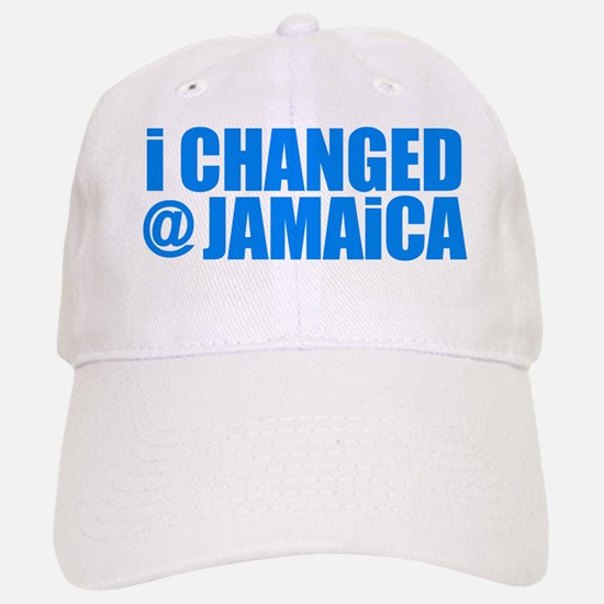 CHANGE AT JAMAICA Baseball Baseball Cap