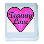 Tranny Love baby blanket