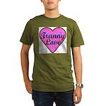 Tranny Love Organic Men's T-Shirt (dark)