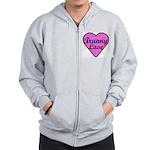 Tranny Love Zip Hoodie