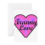 Tranny Love Greeting Card