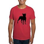 Boston Terrier Silhouette Dark T-Shirt