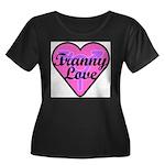 Tranny Love Women's Plus Size Scoop Neck Dark T-Sh