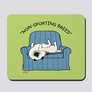 """Keeshond """"Non-Sporting Breed"""" Mousepad"""