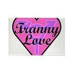Tranny Love Rectangle Magnet (100 pack)