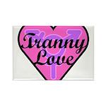 Tranny Love Rectangle Magnet