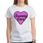 Tranny Love Women's Classic White T-Shirt