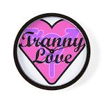 Tranny Love Wall Clock