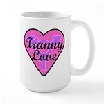 Tranny Love 15 oz Ceramic Large Mug