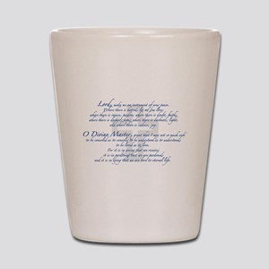 Prayer of St. Francis Shot Glass