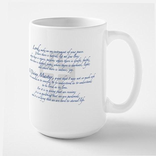 Prayer of St. Francis Large Mug