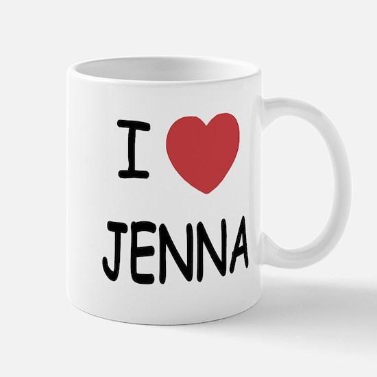 I heart jenna Mug