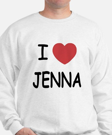 I heart jenna Jumper
