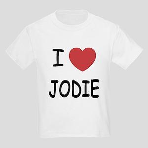 I heart jodie Kids Light T-Shirt