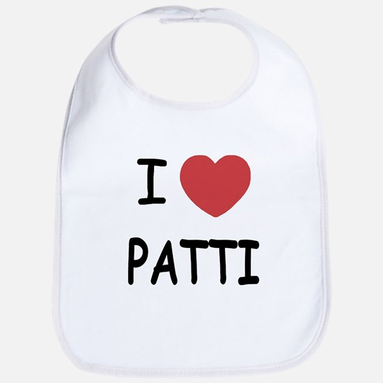 I heart patti Bib