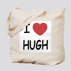 I heart hugh Tote Bag