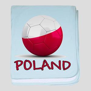 Team Poland baby blanket