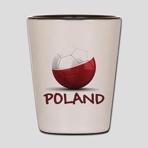 Team Poland Shot Glass