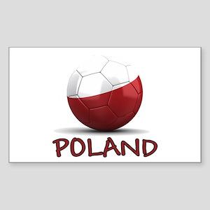 Team Poland Sticker (Rectangle)