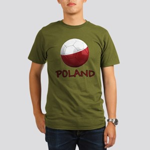 Team Poland Organic Men's T-Shirt (dark)