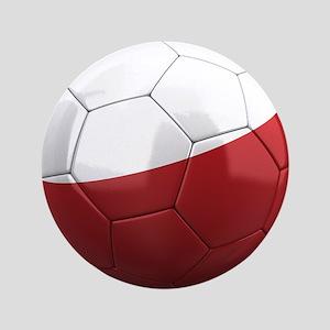 """Team Poland 3.5"""" Button"""