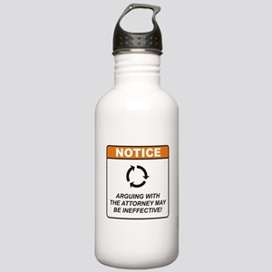 Attorney / Argue Stainless Water Bottle 1.0L