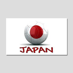 Team Japan Car Magnet 20 x 12