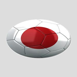 Team Japan 22x14 Oval Wall Peel