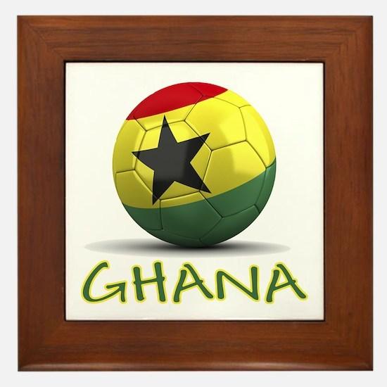 Team Ghana Framed Tile